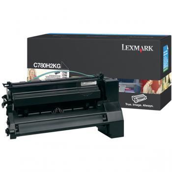 Lexmark Toner-Kartusche schwarz HC (C780H2KG)