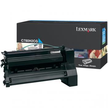 Lexmark Toner-Kartusche cyan HC (C780H2CG)