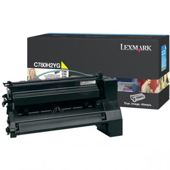 Lexmark Toner-Kartusche gelb HC (C780H2YG)