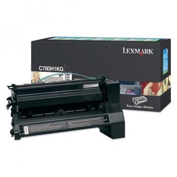 Lexmark Toner-Kartusche Prebate schwarz HC (C780H1KG)