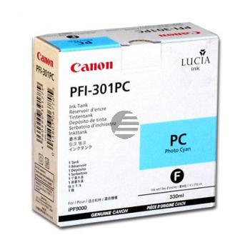 Canon Tintenpatrone photo cyan (1490B001, PFI-301PC)