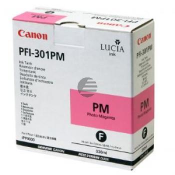 Canon Tintenpatrone photo magenta (1491B001, PFI-301PM)