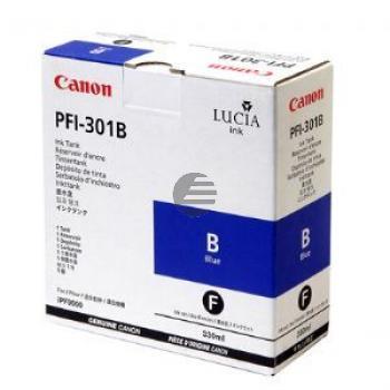 Canon Tintenpatrone blau (1494B001, PFI-301B)