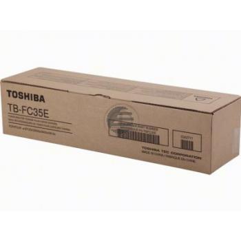 Toshiba Tonerrestbehälter schwarz (6AG00001615, TB-FC35E)