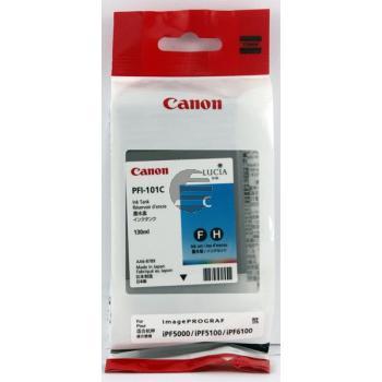 Canon Tintenpatrone cyan (0884B001, PFI-101C)