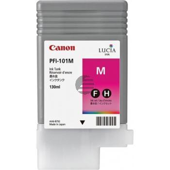Canon Tintenpatrone magenta (0885B001, PFI-101M)