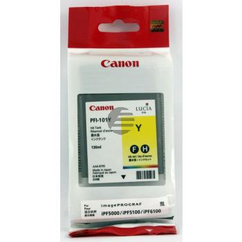 Canon Tintenpatrone gelb (0886B001, PFI-101Y)