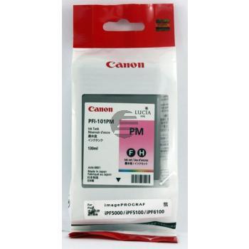 Canon Tintenpatrone photo magenta (0888B001, PFI-101PM)