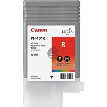 Canon Tintenpatrone rot (0889B001, PFI-101R)