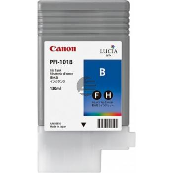 Canon Tintenpatrone blau (0891B001, PFI-101B)