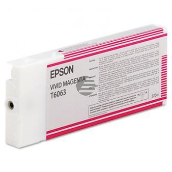 Epson Tintenpatrone magenta HC (C13T565300, T5653)