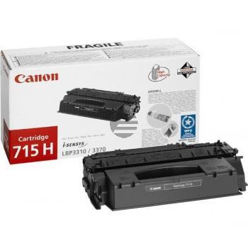 Canon Toner-Kartusche schwarz HC (1976B002, 715H)