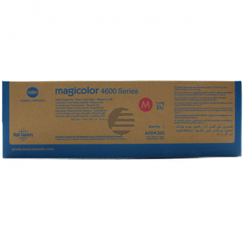 Konica Minolta Toner-Kit magenta HC (A0DK352)