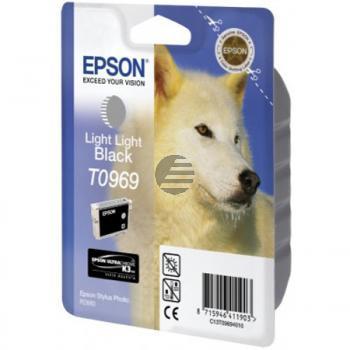 Epson Tintenpatrone schwarz light, light (C13T09694010, T0969)