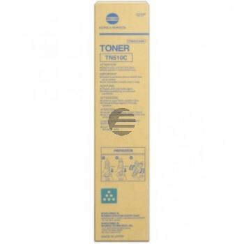 Konica Minolta Toner-Kit cyan (A0YM451, TN-510C)
