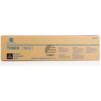 Konica Minolta Toner-Kit schwarz (A070151, TN-411K)