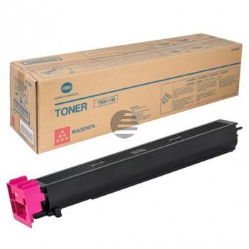 Konica Minolta Toner-Kit magenta (A070350, TN-611M)