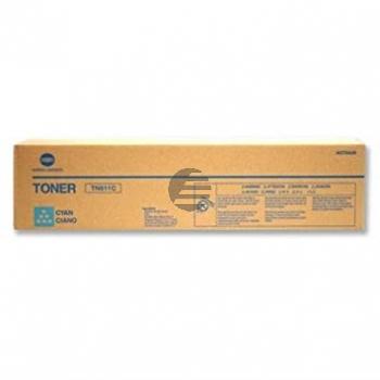 Konica Minolta Toner-Kit cyan (A070450, TN-611C)