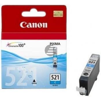 Canon Tintenpatrone cyan (2934B001, CLI-521C)