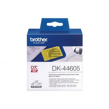 Brother Endlos-Etikett gelb (DK44605)