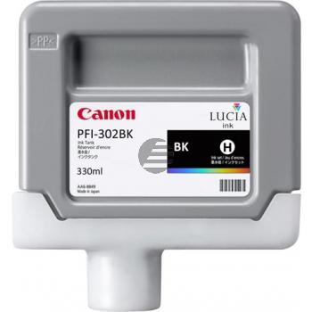 Canon Tintenpatrone schwarz (2216B001, PFI-302BK)