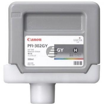 Canon Tintenpatrone grau (2217B001, PFI-302GY)