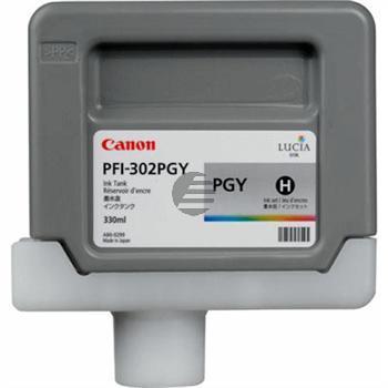 Canon Tintenpatrone grau (2218B001, PFI-302PGY)