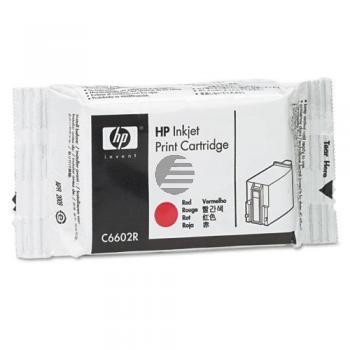 HP Tintendruckkopf rot (C6602R)