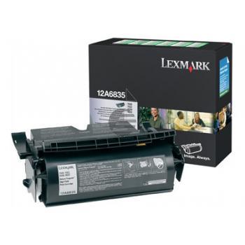 Lexmark Toner-Kartusche Corporate schwarz HC (12A7344)