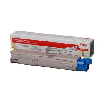 OKI Toner-Kit gelb HC (43459433)