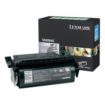 Lexmark Toner-Kartusche Corporate schwarz HC (12A6844)