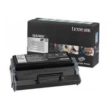 Lexmark Toner-Kartusche Corporate schwarz HC (12A1644)