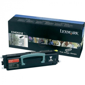 Lexmark Toner-Kartusche schwarz (X340A31E)
