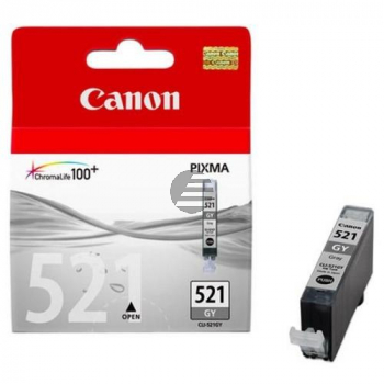 Canon Tintenpatrone grau (2937B005, CLI-521GY)