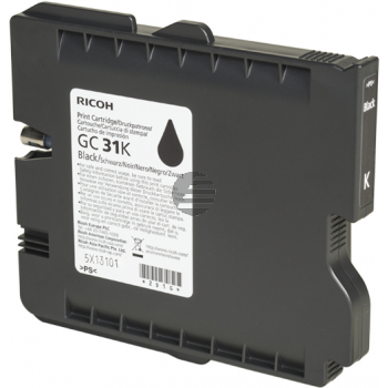 Ricoh Gel-Kartusche schwarz (405688, GC31BK)