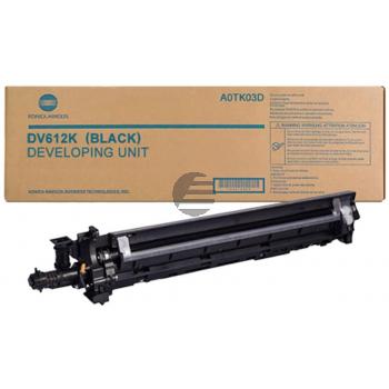 Konica Minolta Entwickler schwarz (A0TK03D, DV-612K) ersetzt DV-612