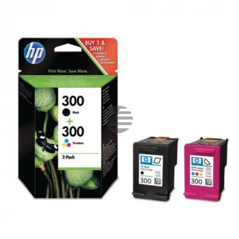 HP Tintendruckkopf cyan/gelb/magenta, schwarz (CN637EE, 300)