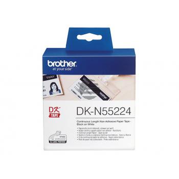 Brother Endlos-Etikett weiß (DKN55224)