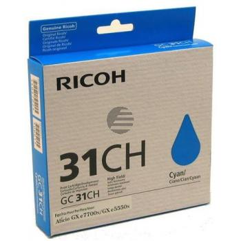 Ricoh Gel-Kartusche cyan (405702)