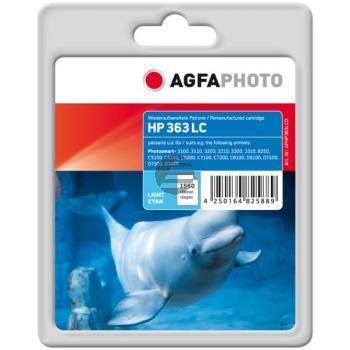 Agfaphoto Tintenpatrone cyan light (APHP363LCD) ersetzt 363
