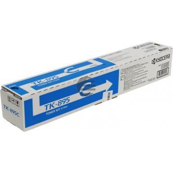 Kyocera Toner-Kit cyan (1T02K0CNL0, TK-895C)
