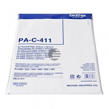 Brother Thermo-Transfer-Papier A4 weiß 100 Blatt (PA-C-411)