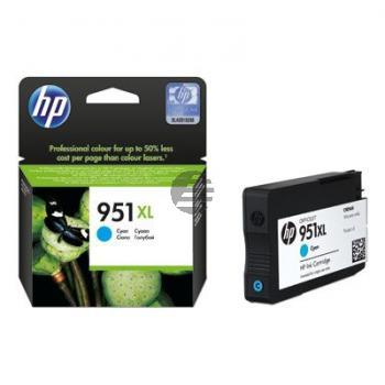HP Tintenpatrone cyan HC (CN046AE, 951XL)