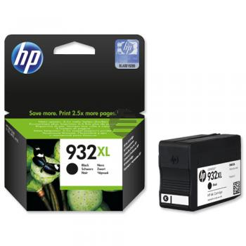 HP Tintenpatrone schwarz HC (CN053AE, 932XL)