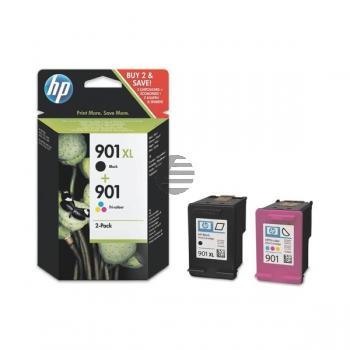 HP Tintendruckkopf cyan/gelb/magenta, schwarz (SD519AE, 901, 901XL)