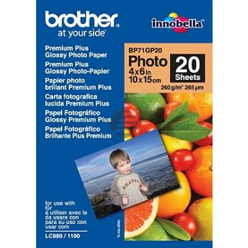 Brother Papier 20 Seiten (BP71GP20)
