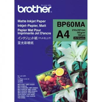 Brother Papier 25 Seiten weiß (BP60MA)