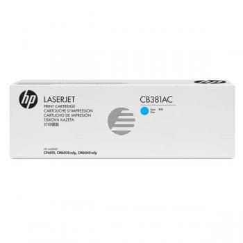 HP Toner-Kit Contract cyan (CB381AC, 824AC)