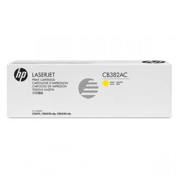 HP Toner-Kit Contract gelb (CB382AC, 824AC)