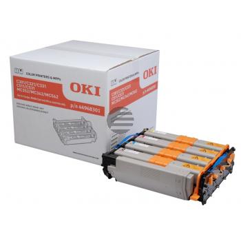 OKI Fotoleitertrommel gelb, cyan, magenta, schwarz (44968301)